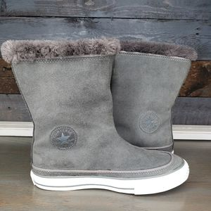 Converse Suede Ankle Boots